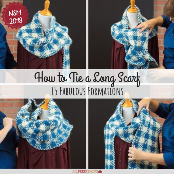 How to Tie a Long Scarf: 15 Fabulous Formations