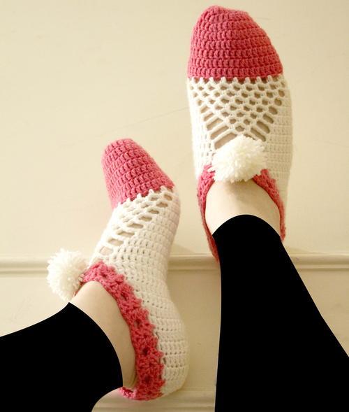Cluster Crochet Slippers Free Crochet Pattern Allfreecrochet