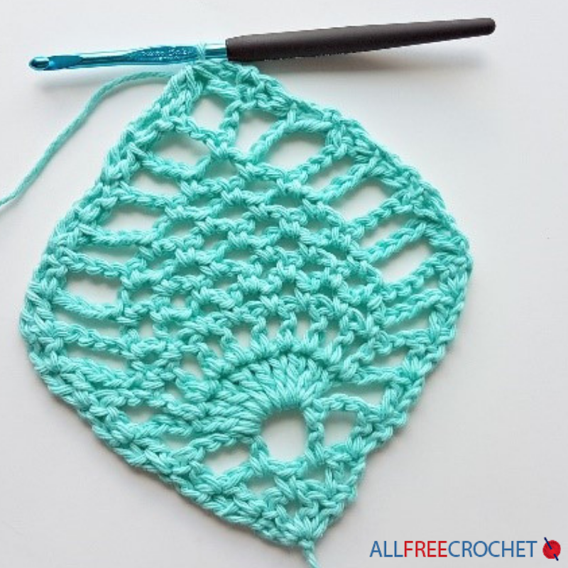 Crochet Pineapple Stitch Tutorial Allfreecrochet