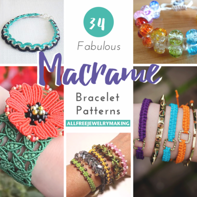 34 Fabulous Macrame Bracelet Patterns