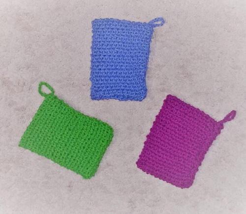 Simple Soap Sack Pattern Allfreeknitting