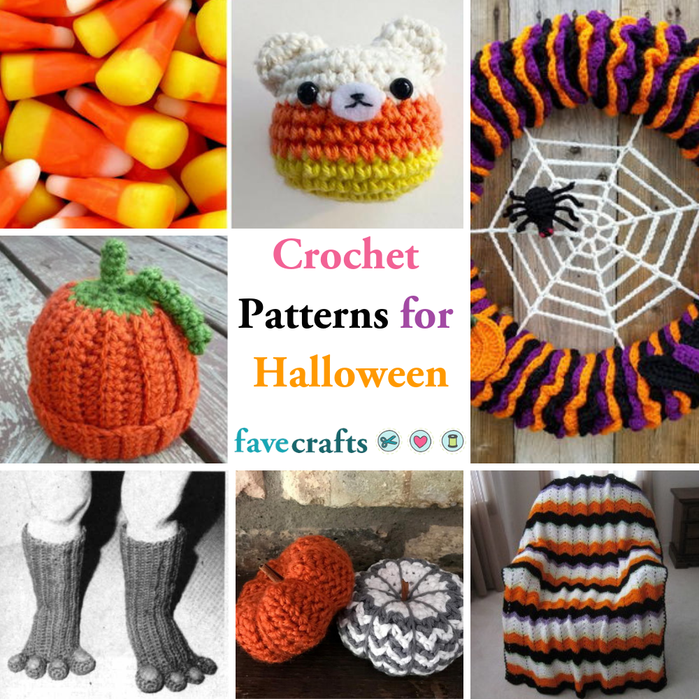 42 crochet patterns for halloween | favecrafts