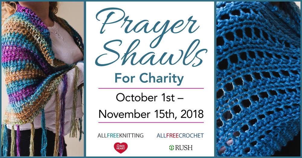 Prayer Shawls For Charity Drive 2018 Allfreeknitting