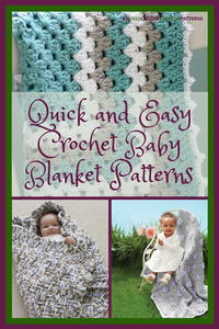 40+ Quick and Easy Crochet Baby Blanket Patterns