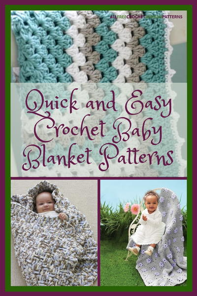 60 Quick And Easy Crochet Baby Blanket Patterns Amazing Crochet Baby Blanket Patterns For Beginners