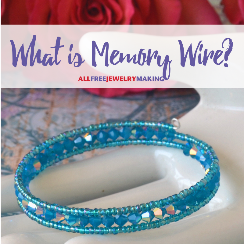 What is Memory Wire?   AllFreeJewelryMaking.com