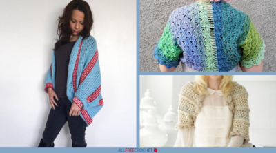 42 Free Crochet Shrug Patterns