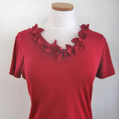 How to Make a Petal Tee with a Die Cut Machine