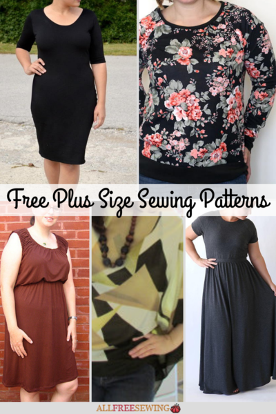 23 Fabulous And Free Plus Size Sewing Patterns Allfreesewing
