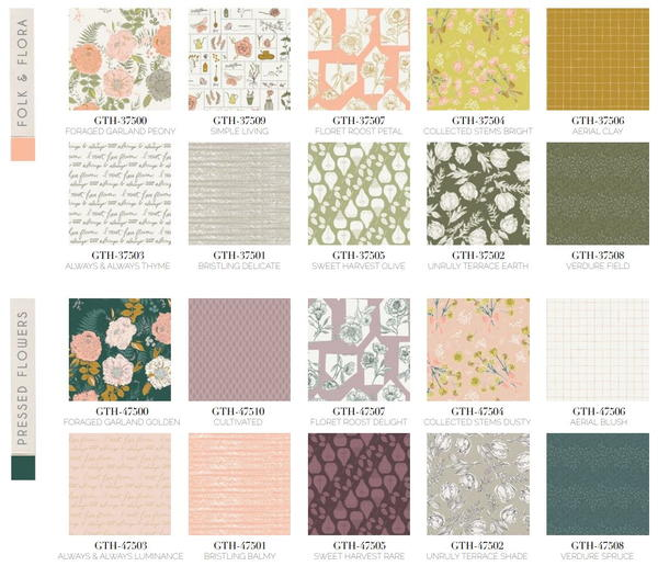 Gathered Fabric Collection