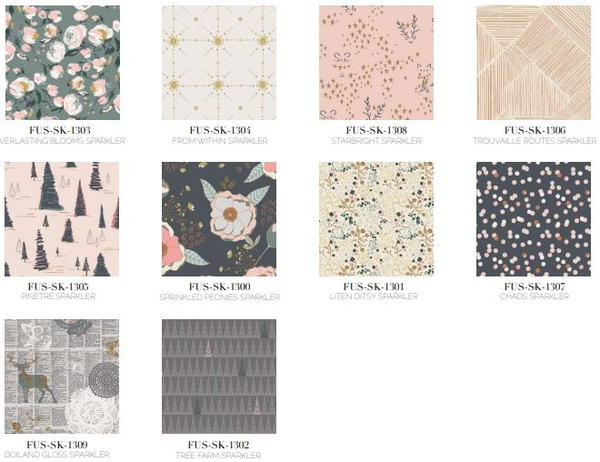 Sparkler Fusion Fabric Collection
