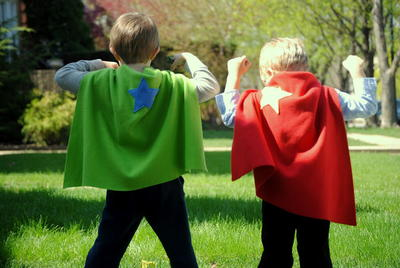 Super Fast Super Hero Capes