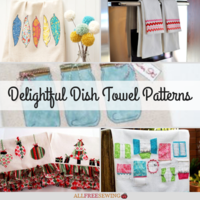 20+ Delightful Dish Towel Patterns