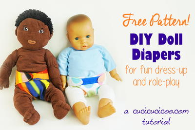 Easy Doll Diapers