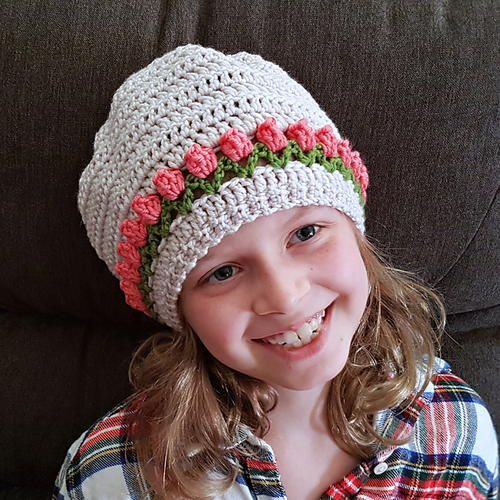 Tulip Stitch Hat Pattern