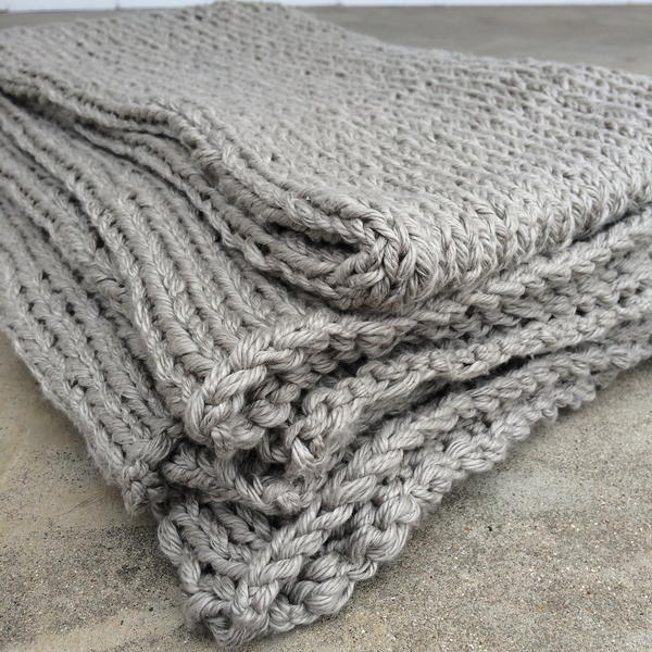 Ultra Soft Gray Throw