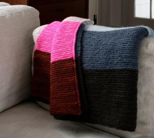 Super Easy Lap Blanket Allfreeknitting
