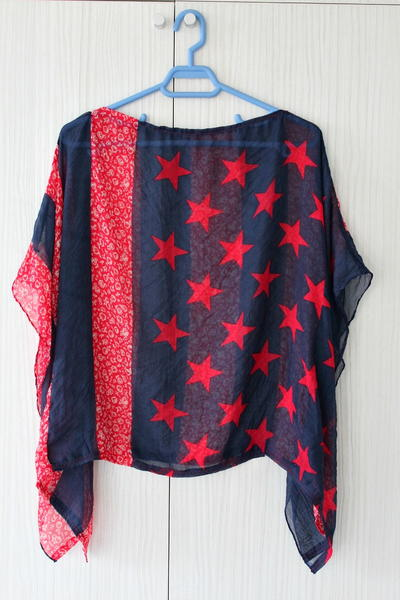 Batwing Top from a Scarf
