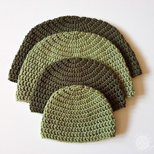 Dk Double Crochet Hat Pattern Allfreecrochet