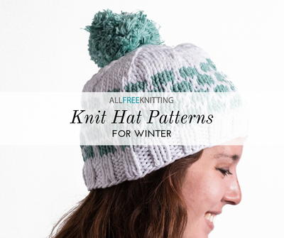 1c8633c4b72d 66+ Knit Hat Patterns for Winter   AllFreeKnitting.com