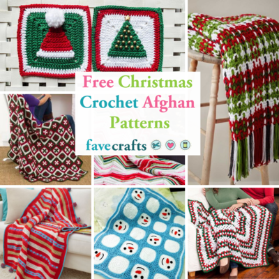 25 Free Christmas Crochet Afghan Patterns Favecrafts