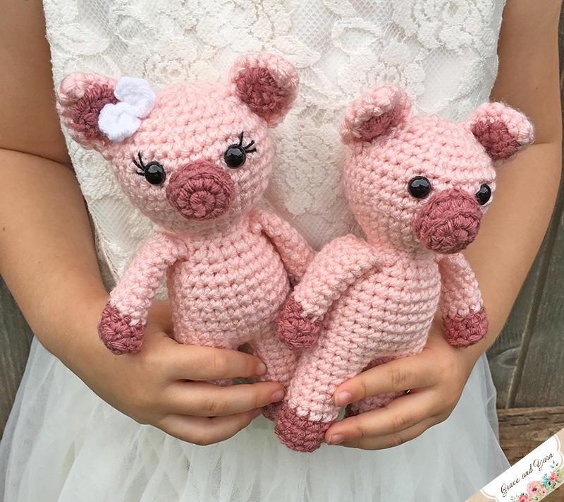 Mini Amigurumi Pig Allfreecrochet