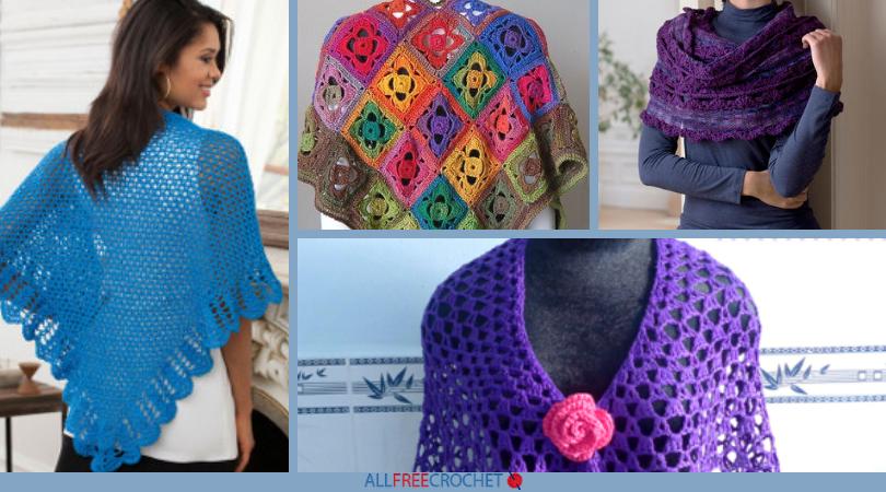 Lovely Lacy Shawls 30 Free Crochet Lace Shawl Patterns
