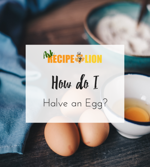 How to Halve an Egg for Baking
