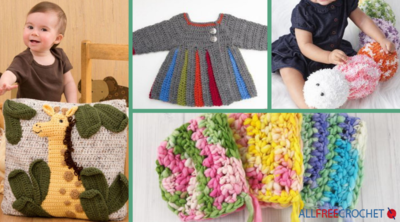 31 Free Crochet Baby Patterns + Free Bonus eBook