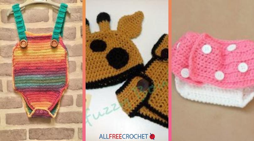 16 Crochet Diaper Cover Patterns Allfreecrochet