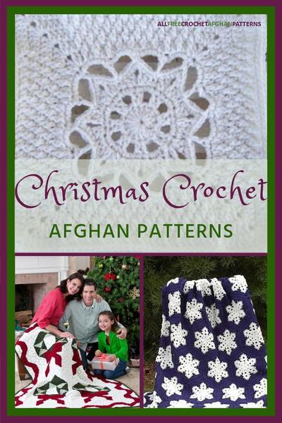 41 Christmas Crochet Afghan Patterns Allfreecrochetafghanpatterns
