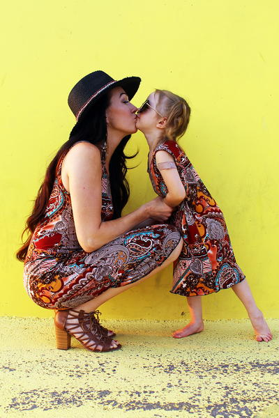 DIY Matching Mommy and Me Dresses