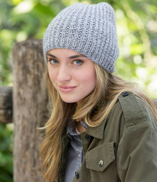 Nice And Easy Beanie Pattern Allfreeknitting
