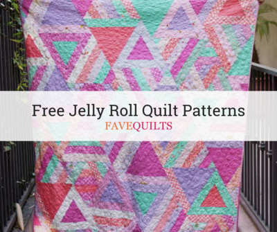 40 Free Jelly Roll Quilt Patterns FaveQuilts Magnificent Quilt Patterns Using Jelly Rolls