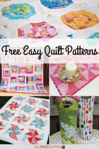 13 New Free Quilt Patterns + 8 Easy Quilt Patterns