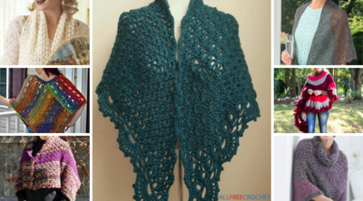 32 Free Crochet Shawl Patterns, Crochet Ponchos & More