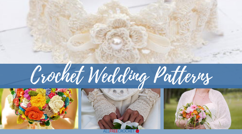 15 Crochet Wedding Patterns Shawls Garters And More