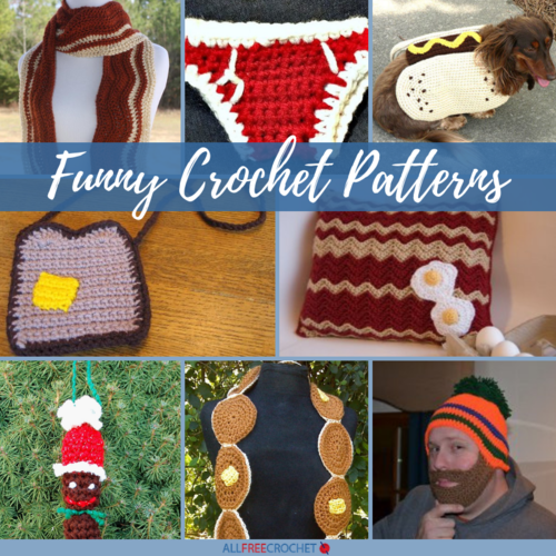 Caption This  15 Funny Crochet Patterns
