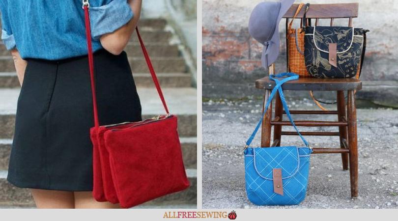 Free crossbody bag sewing patterns png 810x450 Crossbody bag patterns ed0e741548023