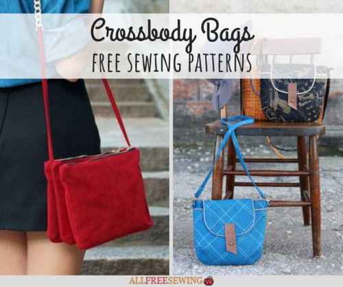 11 Free Crossbody Bag Sewing Patterns | AllFreeSewing.com