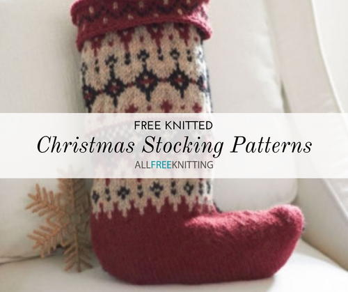 Free Knitted Christmas Stocking Patterns