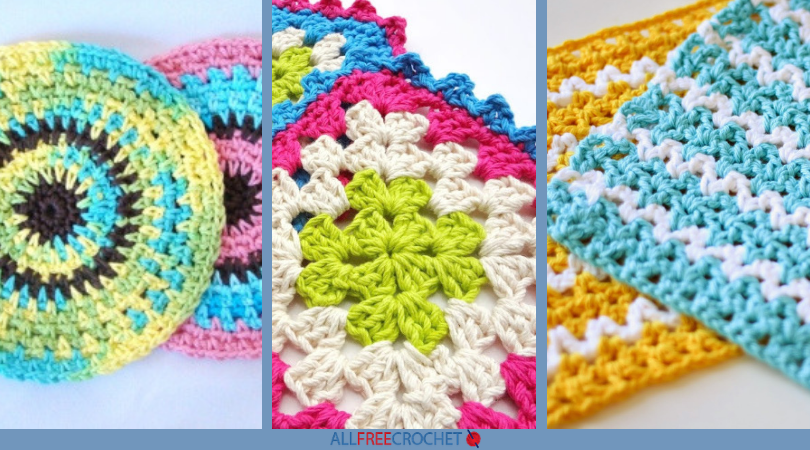 40 Free Crochet Dishcloth Patterns AllFreeCrochet Cool Best Crochet Dishcloth Pattern