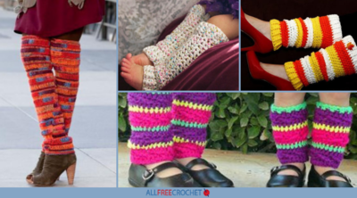 15 Cute Crochet Leg Warmers