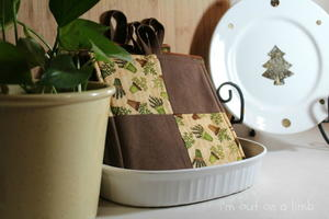 Easy No Binding Pot Holders