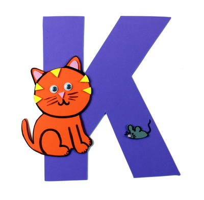 K is for Kitten - Letter K Craft