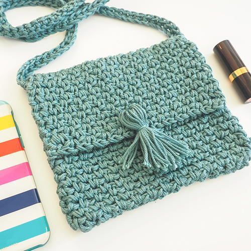 Cute Cross Body Bag Crochet Pattern
