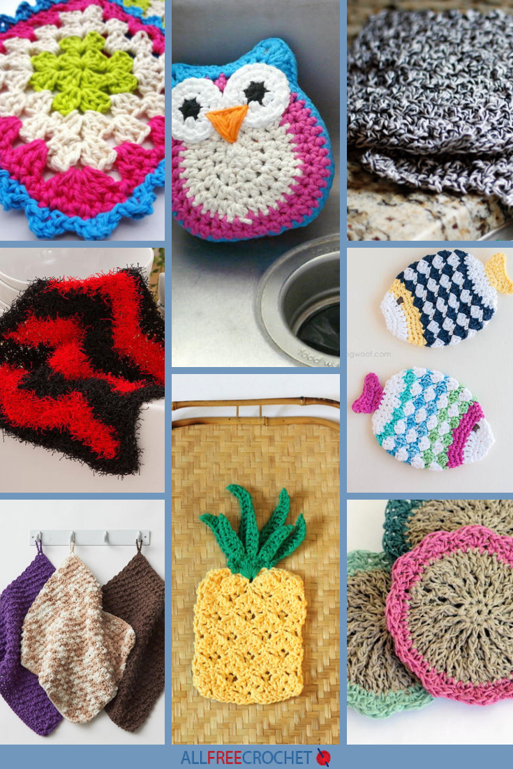 Crochet Dish Scrubbies Pattern Best Decorating Design