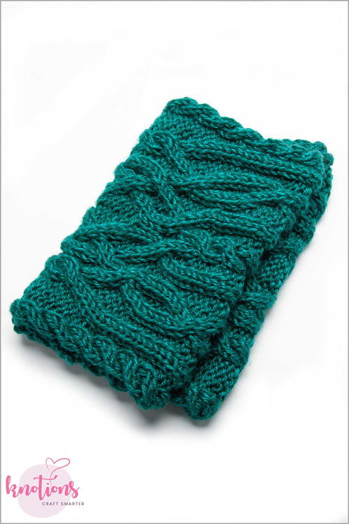 Celtic Cables Cowl