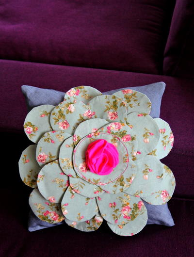 Flower Pillowcase Home Decor