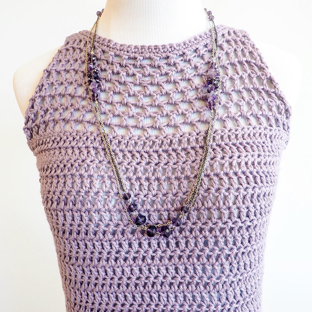 Light Crochet Tank Top Crochet Pattern Allfreecrochet